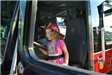 Child in the Firetruck