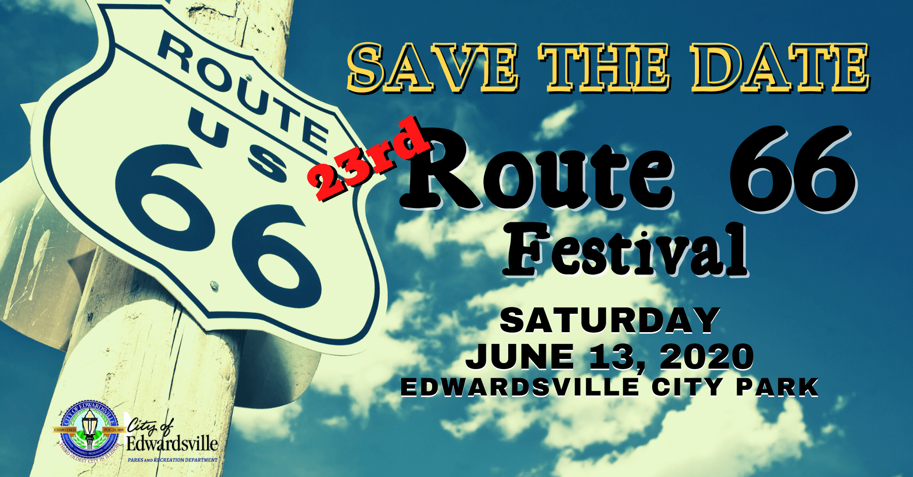 Route 66 FB Event Cover