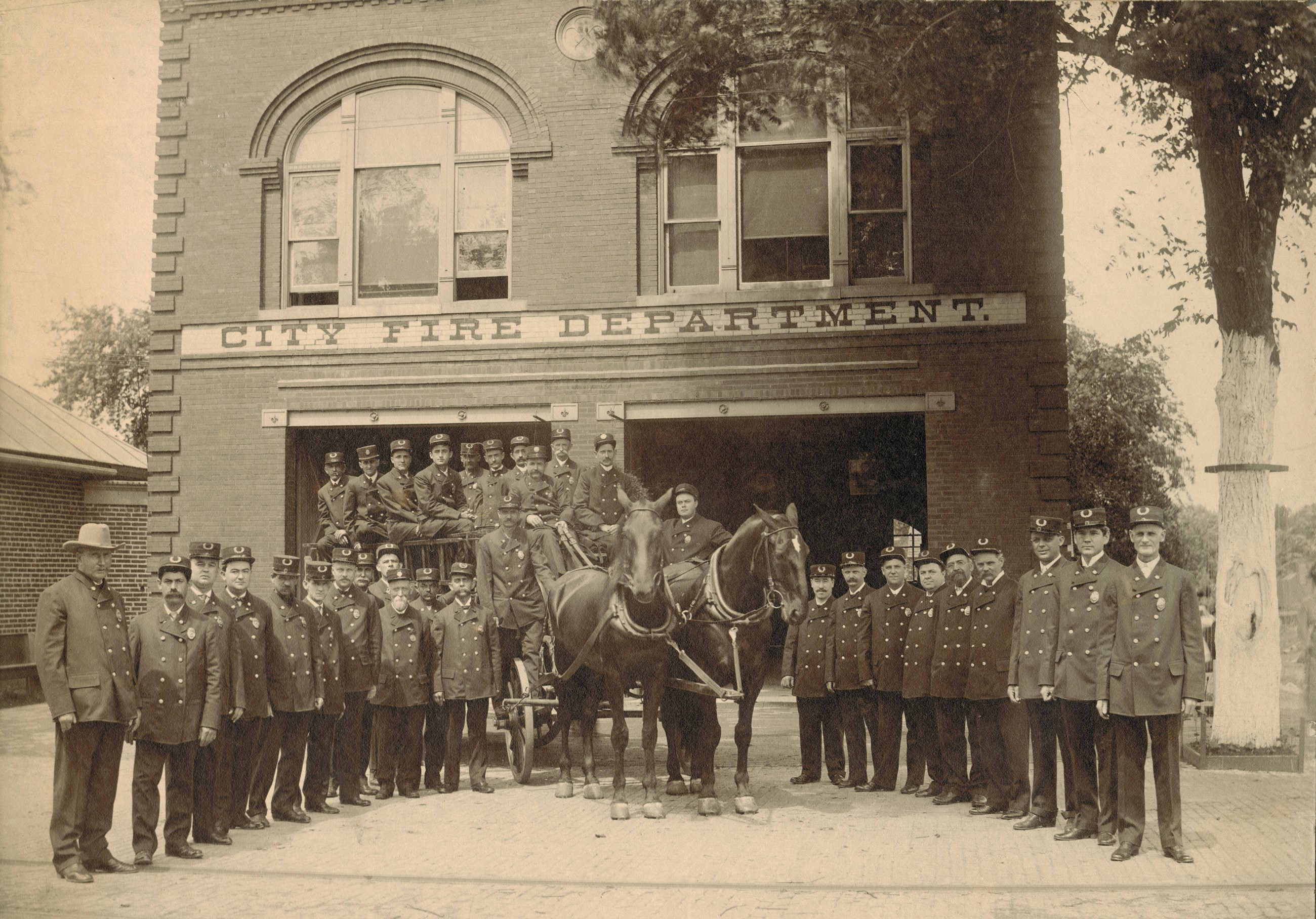 Edwardsville Fire Department 1905