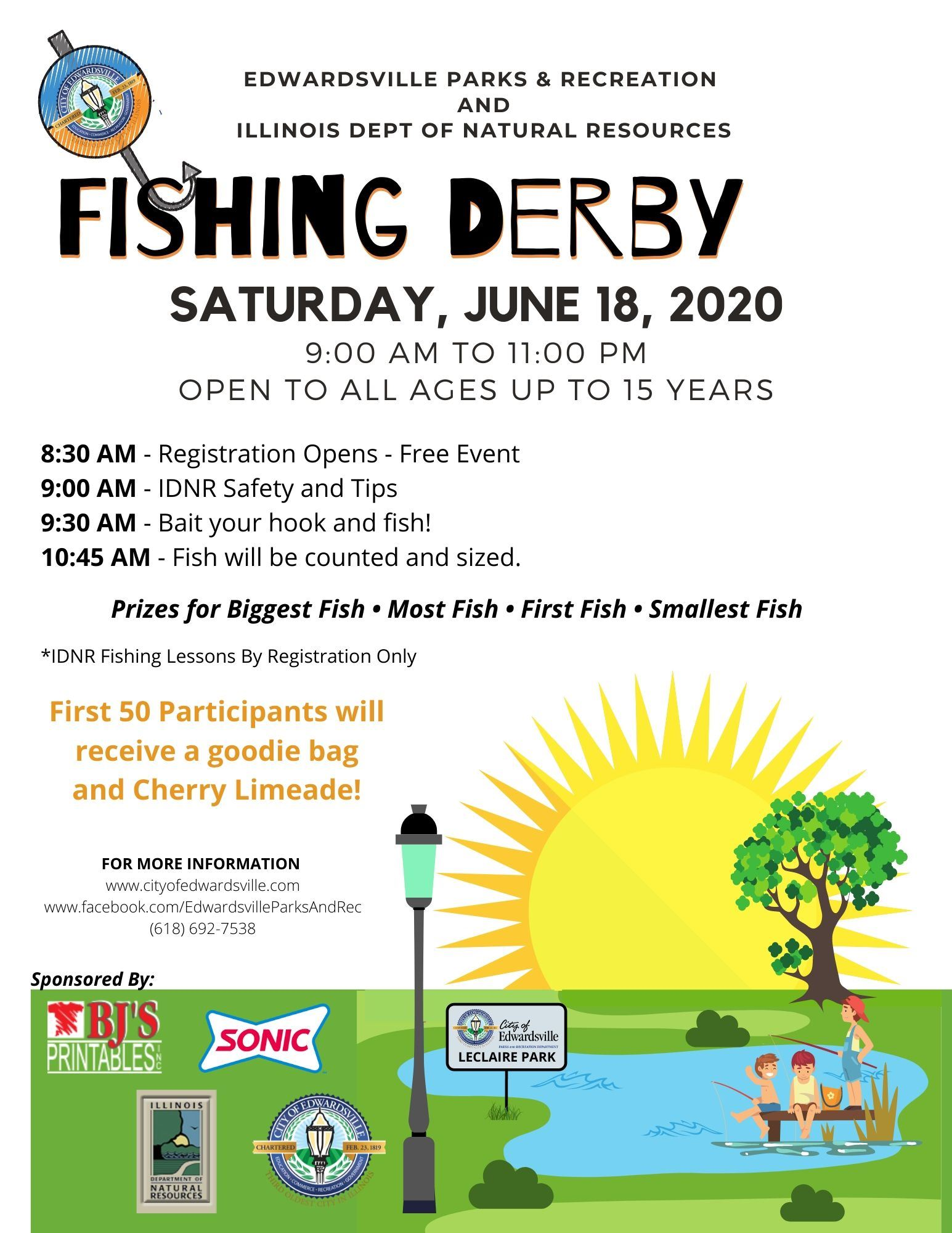 Fishing Derby Flier 2020