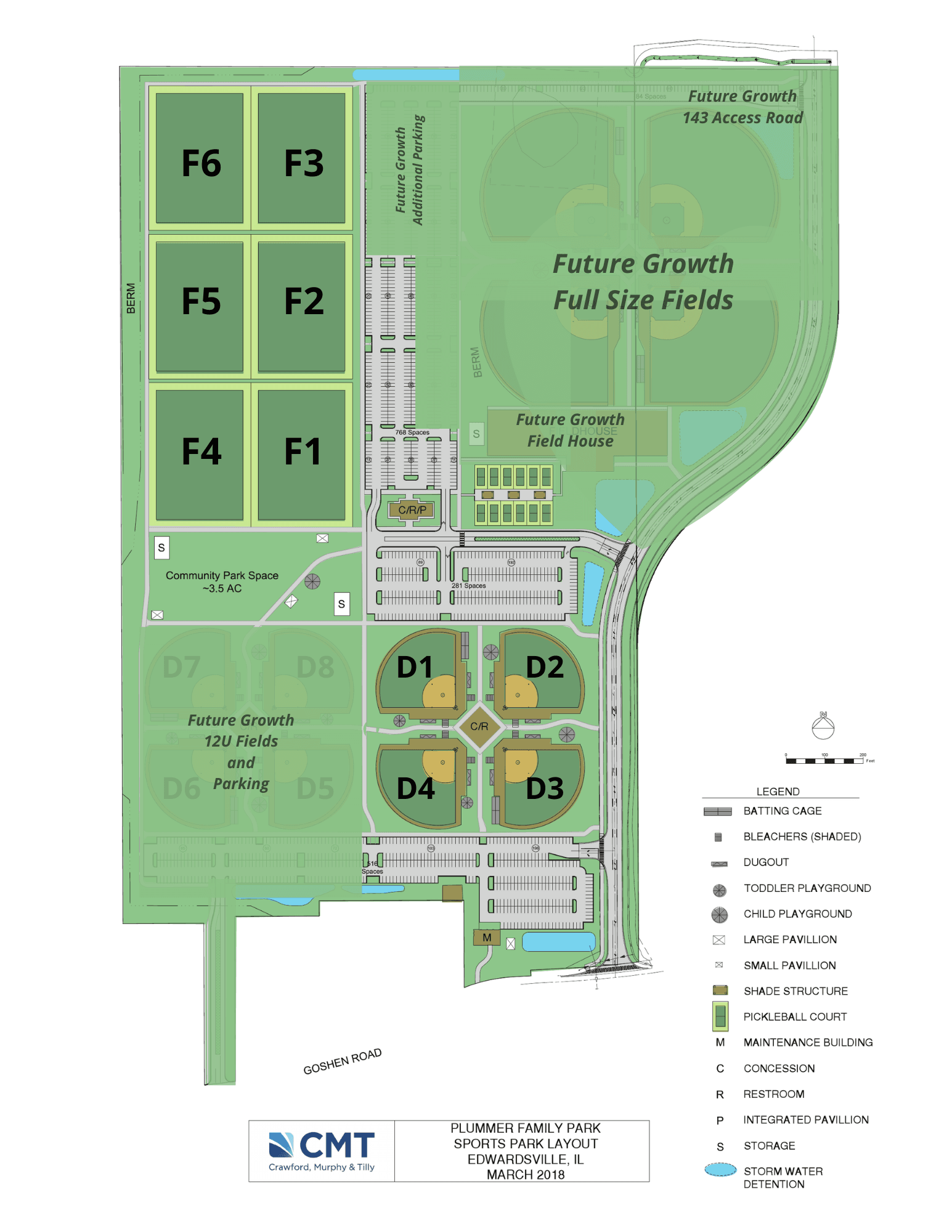 Plummer map layout field numbers for current 2021
